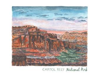 Capitol Reef National Park Print