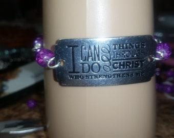 Spiritual/Religious bracelet