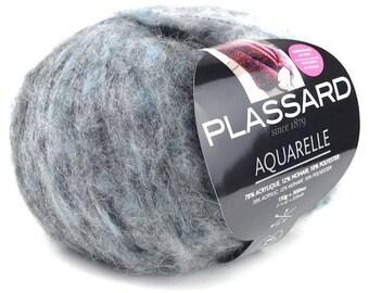 wool plassard 54 colors watercolor
