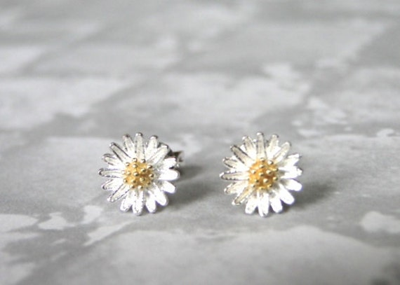 hugerect flower earrings daisy product earring tiny luulla on