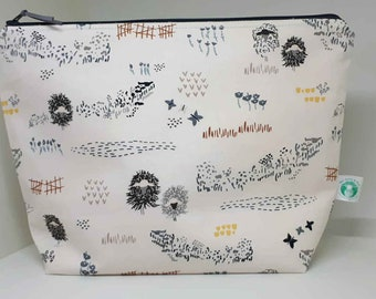 Curly Sheep in a Field Large Project Bag