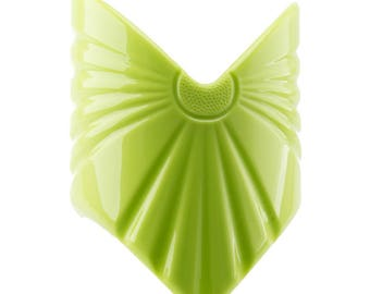 56x80 Big Ponytailclip  in apple green 1Pcs (Z1967_P4680)