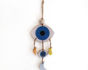 Double Mystic Eye Wall Hanging