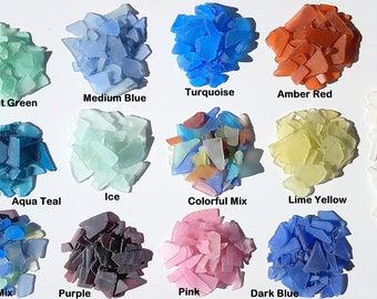 Beach Decor Sea Glass Bulk, Nautical Decor, Bulk Sea Glass, Bulk Beach Glass, Beach Wedding Decor, **2 POUNDS**,  Many Colors - #SGB100