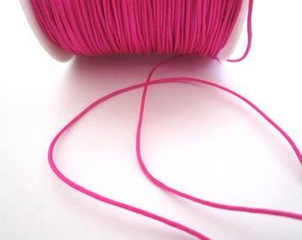 1 m of 0.8 mm pink nylon thread
