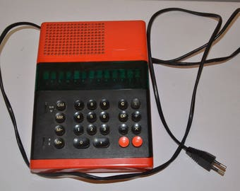 Elka 50M vintage Soviet Bulgarian electric calculator released since 1978