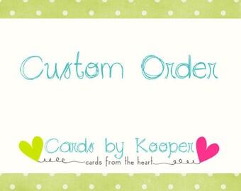 Custom Order for Theo