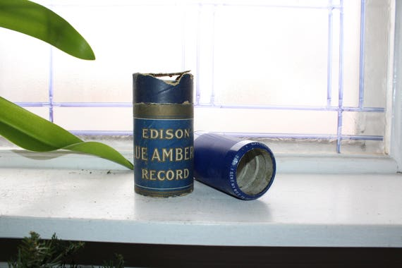 Antique Edison Cylinder Record 2999 I Sent My Wife To the Thousand Isles