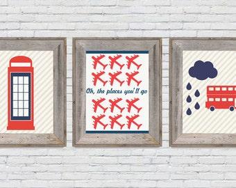 London Nursery Set