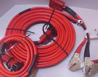 2 Ga 32-Ft Hi-amp UNIVERSAL Quick-Connect-Wiring-Kit-Trailer-Mounted-Winch wiring kit - Superwinch, Ramsey, Warn, Dump Trailer