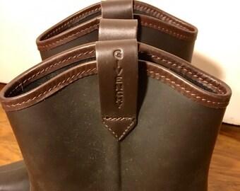 Italian Leather Booties