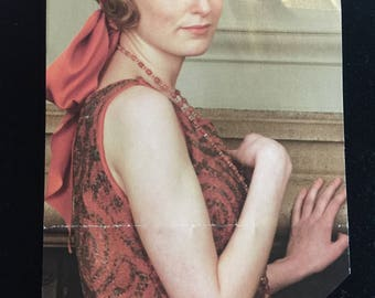 """Downton Abbey Style """"Lady Edith"""" Beaded Necklace"""