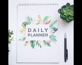 To do List/day Planner Flamingo/Daily Planer