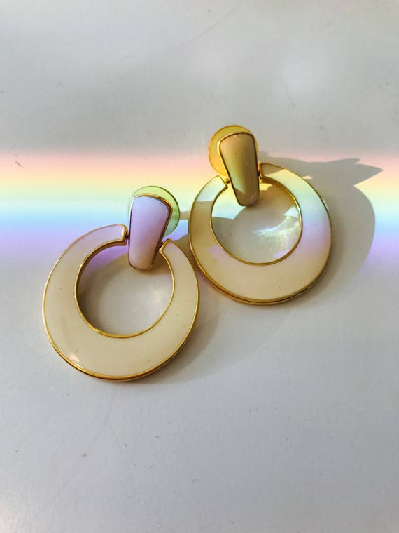 Vintage Mod Earrings