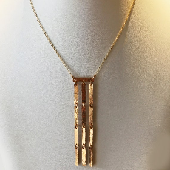 Bronze Falls Necklace