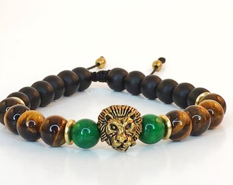 Tigers Eyes | Yoga Bracelet | Reiki | Mala Bracelet | Wrist Mala | Healing Bracelet | Hand Made Jewellery | Mala | Men bracelet | For Him