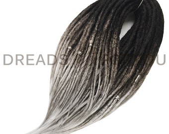 Saint-P Crochet Synthetic Dreads x20 or Full Set Single or Double Ended Dreadlocks