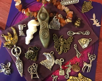 Trinket Oracle Starter Kit (charmcasting, charms, goddess, oracle, divination)