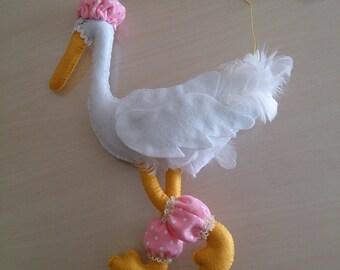 Birth Bud Stork (delivery Stork)