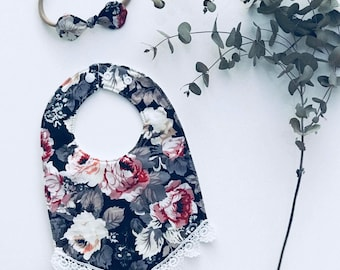 English Rose Lace & Sweetbow Set
