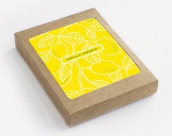 Lemon Hello - Hello There - Pack of 8