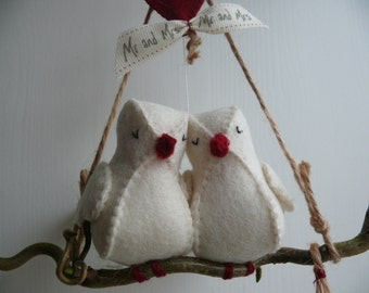 Love Birds - PDF pattern - instand download