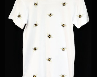Bumble Bee Pattern T-Shirt