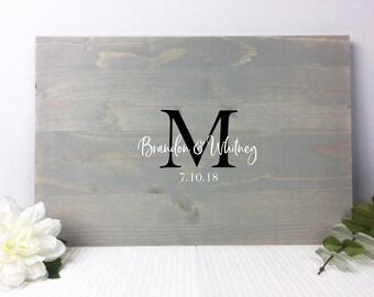 Wedding Guest Book Alternative | Wedding Guest Book Wood | Wedding Guestbook | Rustic Wedding Guest Book | Wooden Guest Book | Guest Book