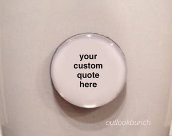 Custom Quote Mug - Quote Magnet