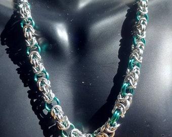 Turquoise Byzintine Necklace