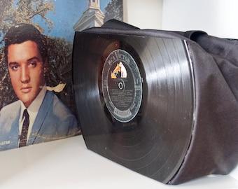ELVIS PRESLEY Record Purse made from vintage vinyl records SALE