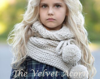 Knitting Pattern - Pinion Shawl (toddler, child, teen, adult sizes)