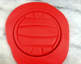 Waterpolo Cookie Cutter - SHARP EDGES - FAST Shipping - Choose Your Own Size!