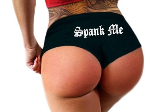 Panties spank together