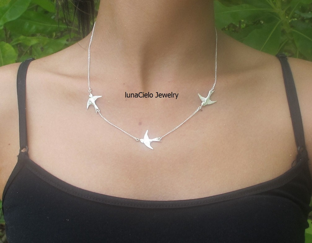 necklace necklaces fashion bird home silver orelia something l default london gold