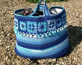 Large Beach Bag / Large Picnic Bag / Large Tote