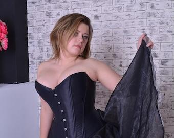 Overbust classic steel boned corset