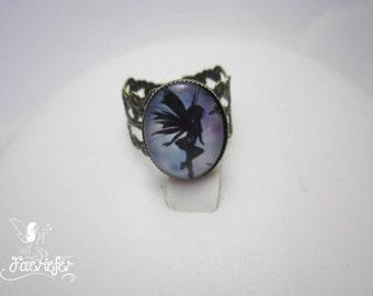 Faerie ring bronze costume jewellery