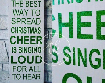 Buddy the Elf inspired Christmas Sign