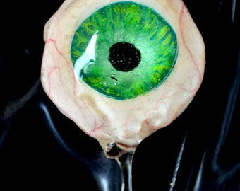 Crying Water Eye Green