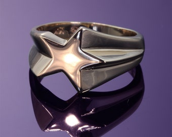14K Gold Shooting Star Ring by Cavallo Fine Jewelry