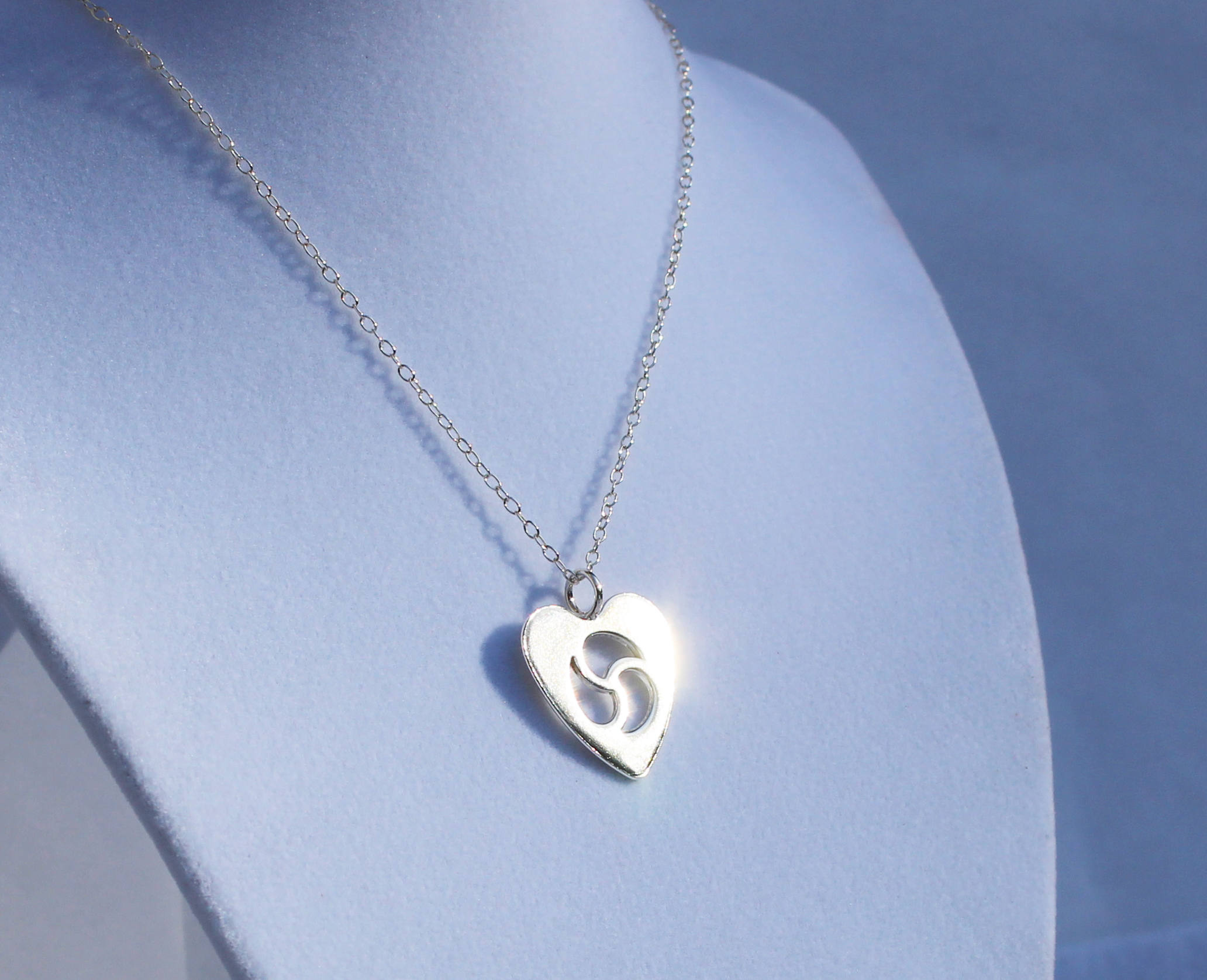 Bdsm jewelry submissive little necklace heart sterling description bdsm jewelry submissive little necklace biocorpaavc Gallery