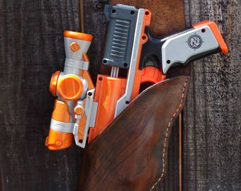 Nerf Clear Shot Thigh Leather Holster