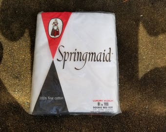 Springmaid Double Bed Size Sheets - New / Old Stock