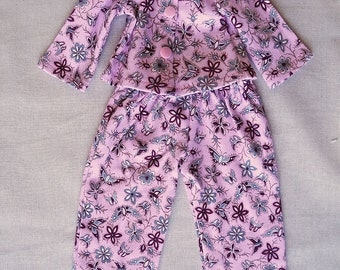 "18"" Dolls Pyjamas / Dolls PJ's / Dolls Clothes"