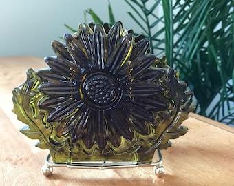 Vintage Flower Napkin Holder | Mid Century Letter Holder | Bohemian Decor | Resin Flower | Table Decor | Resin Art