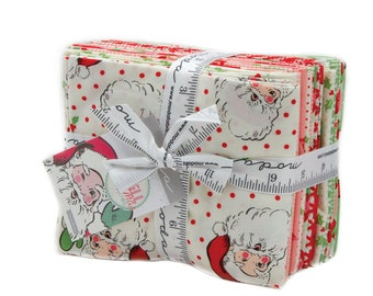 Swell Christmas 18 Fat Quarter Bundle designed by Urban Chiks for Moda Fabrics