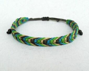 Mens bracelet,Macrame men bracelet,Surf bracelet,Friendship bracelet,Micromacrame,Surfer Wristband ,Pura vida,Fishtail,Fishbone, Ocean waves