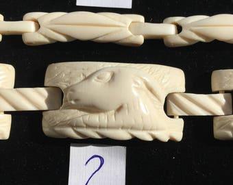 One antique vintage link bracelet