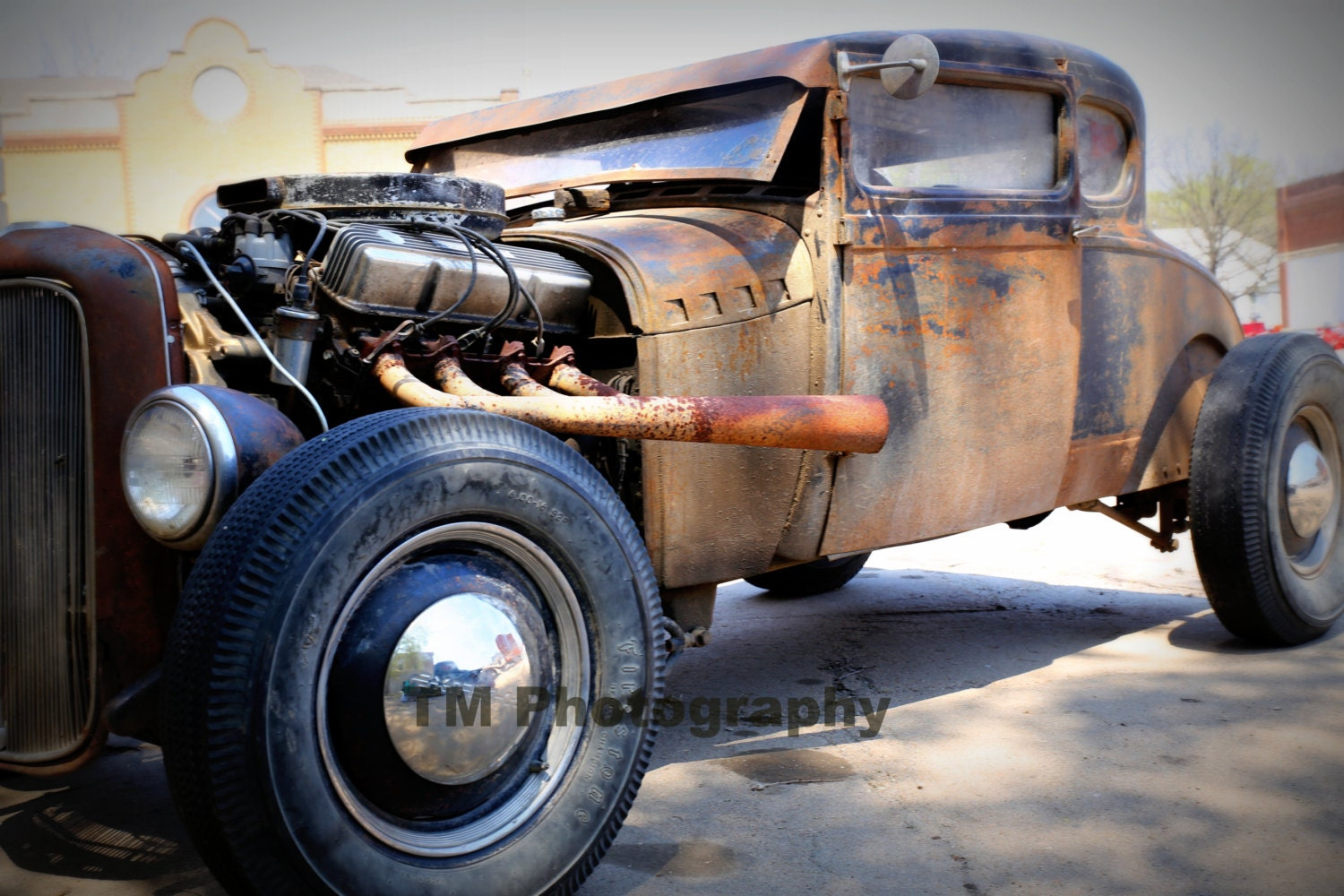 Hot Rod Old Car Old Hot Rod Rusty Old Car Rusty Hot